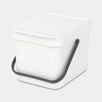 Šiukšlių dėžė Brabantia Sort & Go 6L 9