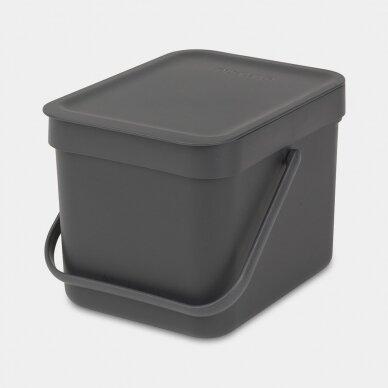 Šiukšlių dėžė Brabantia Sort & Go 6L 8