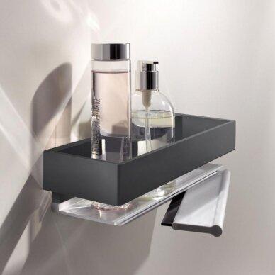 Lentynėlė dušui Keuco Edition 11 su integruotu stiklo valytuvu 5
