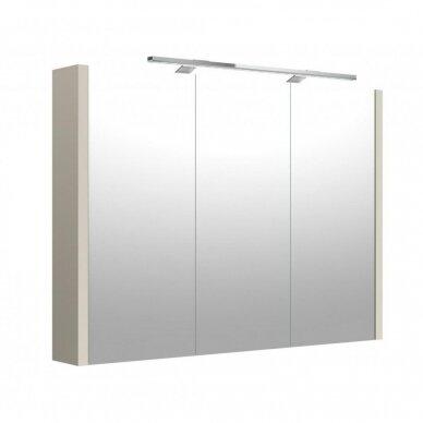 Veidrodinė spintelė Joy su Led apšvietimu 60, 75, 90, 110 cm 5