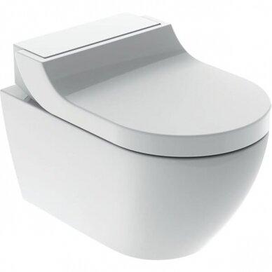 WC puodas ir išmanusis dangtis Geberit AquaClean Tuma Comfort 8