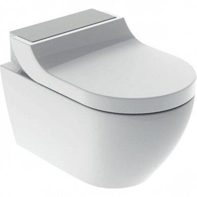 WC puodas ir išmanusis dangtis Geberit AquaClean Tuma Comfort 11