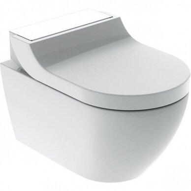 WC puodas ir išmanusis dangtis Geberit AquaClean Tuma Comfort 9
