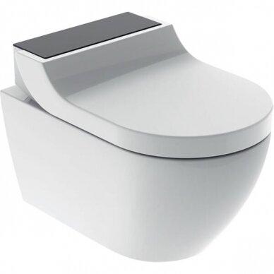 WC puodas ir išmanusis dangtis Geberit AquaClean Tuma Comfort 10