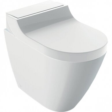 Pastatomas WC puodas ir išmanusis dangtis Geberit AquaClean Tuma Comfort 6