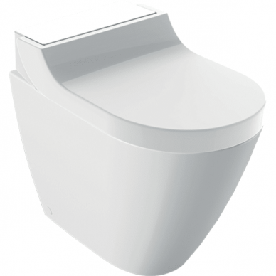 Pastatomas WC puodas ir išmanusis dangtis Geberit AquaClean Tuma Comfort 7
