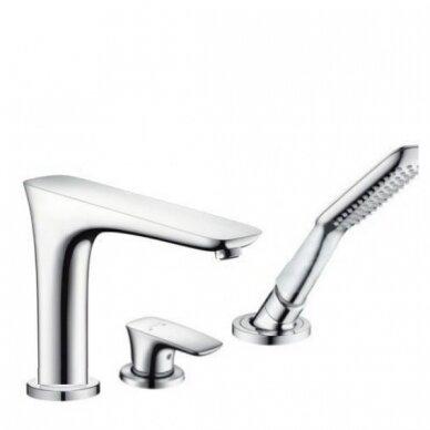 3 dalių maišytuvas voniai  Hansgrohe PuraVida 3