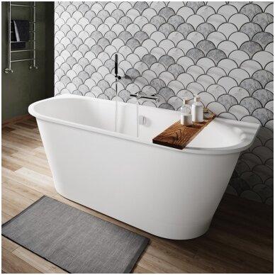 Kodėl turėtumėte rinktis akmens masės vonias?