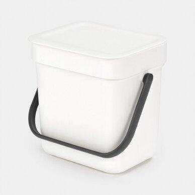 Šiukšlių dėžė Brabantia Sort & Go 3L 9
