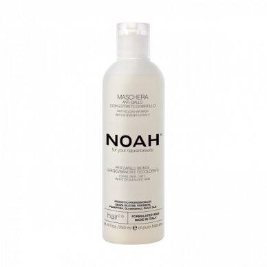 Plaukų kaukė Noah 2.6 neutralizuojanti geltonus tonus Anti-Yellow 250 ml