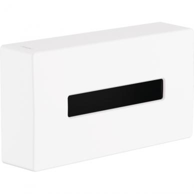 Popierinių rankšluosčių lapeliais laikiklis Hansgrohe AddStoris 4