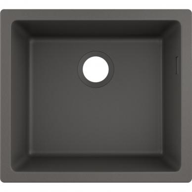 Akmens masės plautuvė Hansgrohe S51 S510-U450 5