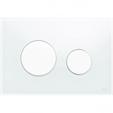 WC nuleidimo klavišas TECEloop, įvairių spalvų