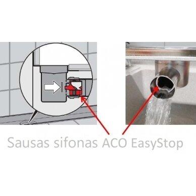 ACO EasyStop kvapo užsklanda DN50 2