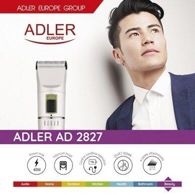 Plaukų kirpimo mašinėlė Adler AD 2827 3