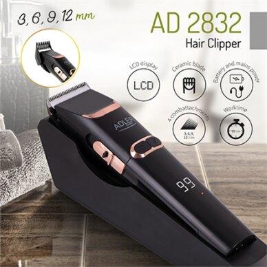 Plaukų kirpimo mašinėlė Adler AD 2832 3