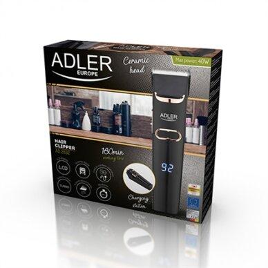 Plaukų kirpimo mašinėlė Adler AD 2832 4