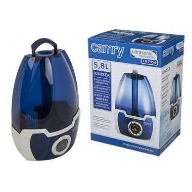 Air Humidifier Camry CR 7956 Blue, Type Air Humidifier, 30 W 16