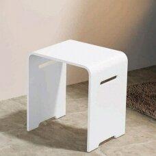 Akmens masės dušo vonios kėdutė Riho