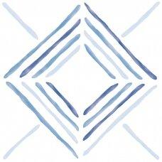 Akmens masės plytelės DRAW DIAMOND 22x22