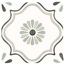 Akmens masės plytelės TANGER SAND FLOWER 12x12