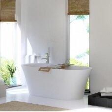 Akmens masės vonia Balteco Fiore 160, 180 cm