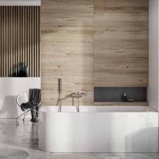 Akmens masės vonia Balteco Leon 180 x 80 cm