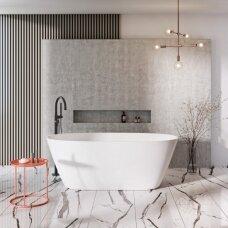 Akmens masės vonia Balteco Nido 169 x 79 cm