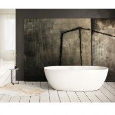 Akmens masės vonia PAA Bella 170 cm