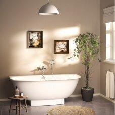 Akmens masės vonia PAA Verso 170 cm