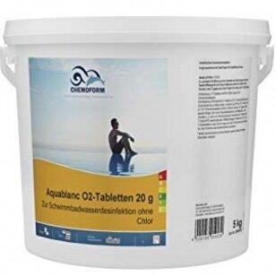 Aktyvaus deguonies tabletės Chemoform AG po 20 g, 5 kg