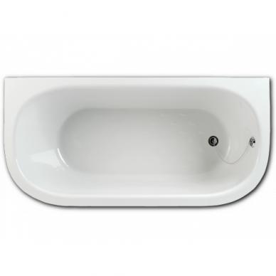 Akmens masė vonia PAA Vario M 150-160x75 cm 4