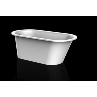 Akmens masė vonia PAA Vario M 150-160x75 cm 2