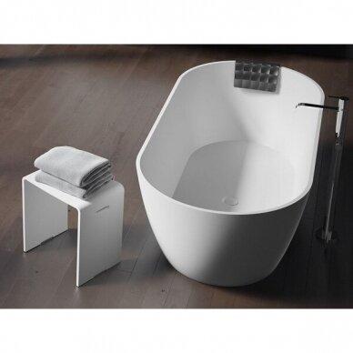 Akmens masės dušo vonios kėdutė Riho 2