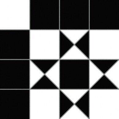 Akmens masės plytelės Codicer BRISTOL BLACK 25x25 2