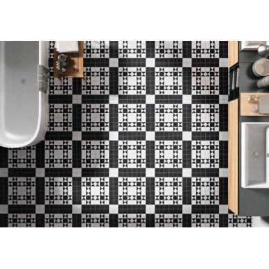 Akmens masės plytelės Codicer BRISTOL BLACK 25x25