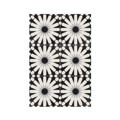 Akmens masės plytelės Elios Etnic A Black & White 3