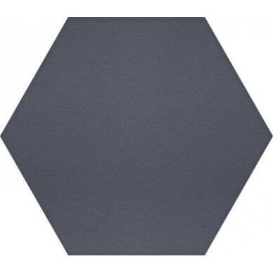 Akmens masės plytelės Manhattan Hex Indigo 15x17