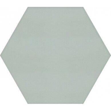 Akmens masės plytelės Manhattan Hex Sage 15x17