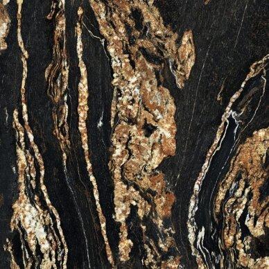 Akmens masės plytelės Nobile Black Taurus