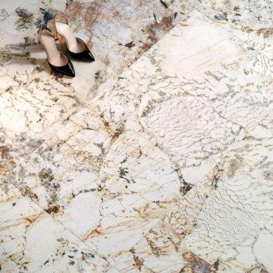 Akmens masės plytelės Nobile Blanc Du Blanc 3