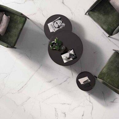 Akmens masės plytelės Pure Statuario 2