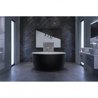 Akmens masės vonia Balteco Allure 134 cm 2