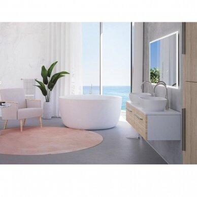 Akmens masės vonia Balteco Allure 134 cm