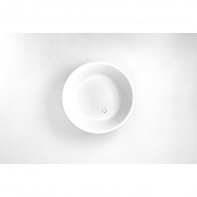 Akmens masės vonia Balteco Allure 134 cm 5