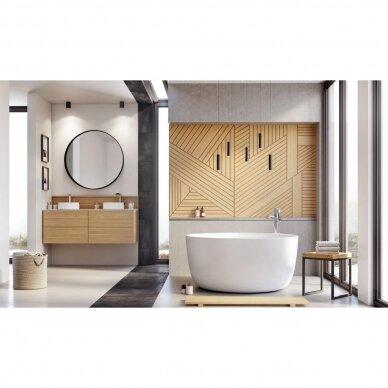 Akmens masės vonia Balteco Allure 134 cm 3