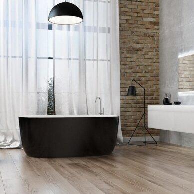Akmens masės vonia Balteco Azur 130, 140, 155 cm
