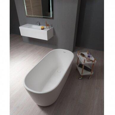Akmens masės vonia Balteco Azur 130, 140, 155 cm 2