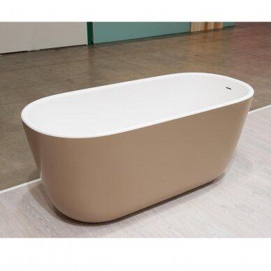 Akmens masės vonia Balteco Azur 130, 140, 155 cm 3