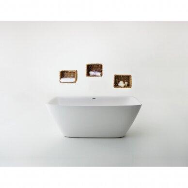 Akmens masės vonia Balteco Dune 174 cm 2